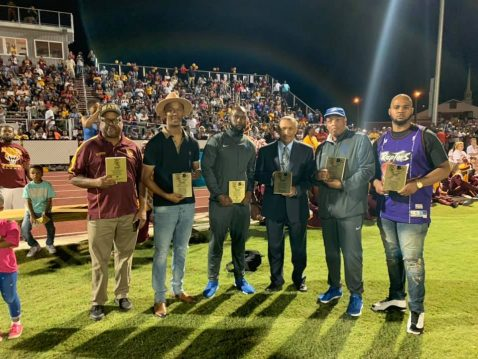 TSU Band Directors and Alumni James Sexton and Derrick Greene Honored by high school Alma Mater
